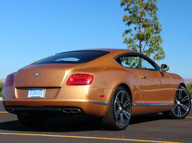 Driving Impressions: 2013 Bentley Continental GT V8